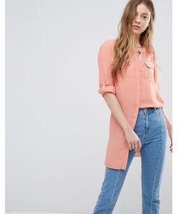 Vero Moda | Удлиненная Рубашка