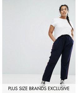 Daisy Street Plus | Moto Stripe Trousers