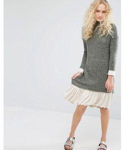 I Love Friday | Вязаное Платье С Высоким Воротом