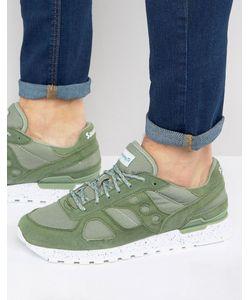 Saucony | Зеленые Кроссовки Из Ткани Рипстоп Shadow Original S70300-4