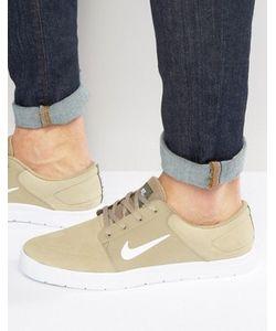 Nike SB | Бежевые Кроссовки Portmore Vapor 855973-213