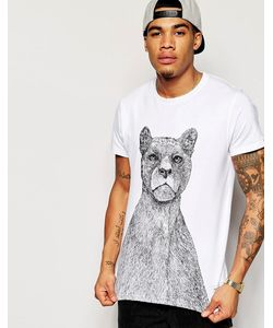 Supreme Being | T-Shirt With Panther Print
