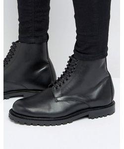 Hudson London | Кожаные Ботинки Со Шнуровкой Эксклюзивно Для