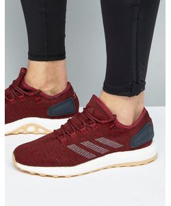 Adidas | Бордовые Кроссовки Pure Boost Ba8895
