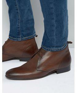 Base London | Кожаные Ботинки Чукка Trader