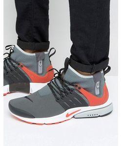 Nike | Серые Кроссовки Air Presto 859524-004
