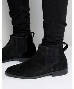 Kg Kurt Geiger | Черные Замшевые Ботинки Челси Kg By Kurt Geiger Guildford