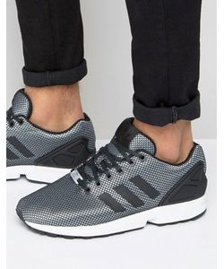 adidas Originals | Серебристые Кроссовки Zx Flux