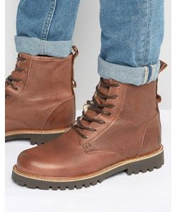 Shoe the Bear | Теплые Кожаные Ботинки На Шнуровке Walker