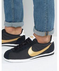 Nike | Черные Нейлоновые Кроссовки Cortez 807472-002