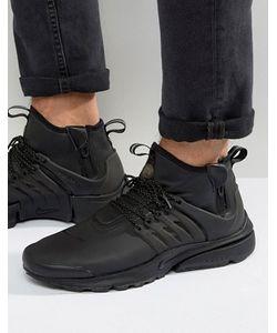 Nike | Черные Средние Кроссовки В Стиле Милитари Air Presto 859524-003