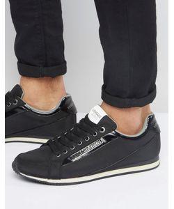 Versace | Черные Кроссовки Для Бега Jeans