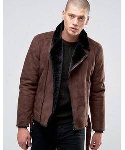 Barney's Originals | Байкерская Куртка Из Искусственной Овчины Barneys
