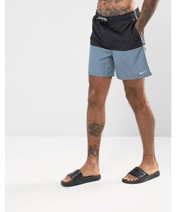 Nike | Черные Короткие Шорты Для Плавания Ness7427001