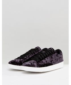 Nike | Черные Бархатные Кроссовки Blazer