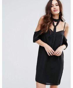 Fashion Union | Платье С Открытыми Плечами И Чокером