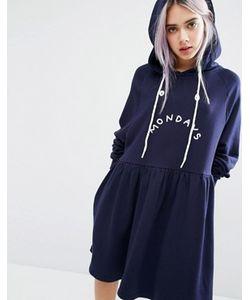 Lazy Oaf | Платье С Капюшоном Mondays