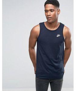 Nike | Синяя Майка Futura 827282-475