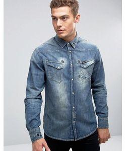 Wrangler | Состаренная Джинсовая Рубашка