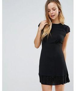 Wal G | Облегающее Платье С Короткими Рукавами