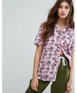 Carhartt WIP | Свободная Рубашка С Короткими Рукавами И Гавайским Принтом