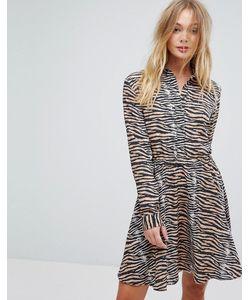 SuperTrash | Платье С Тигровым Принтом Dars
