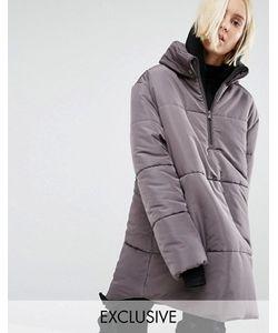 Puffa | Oversize-Куртка Через Голову С Короткой Молнией