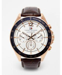 Tommy Hilfiger | Часы С Кожаным Ремешком Luke 1791118