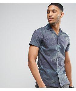 Noak | Приталенная Рубашка С Гавайским Принтом И Воротником В Виде Лацканов