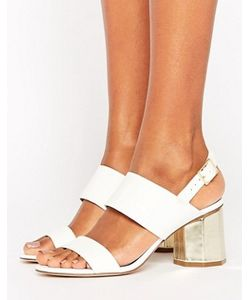 Miss Selfridge | Hexagon Block Heeled Sandals