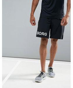 Björn Borg   Черные Шорты Performance