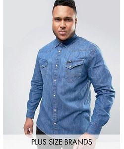 Wrangler | Выбеленная Рубашка В Стиле Вестерн Plus