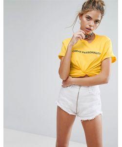 Adolescent Clothing | Футболка С Принтом Great Personality
