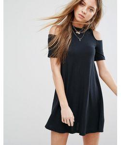 Hollister | Платье С Вырезами На Плечах
