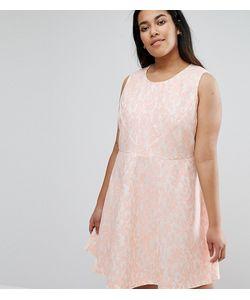 AX Paris | Короткое Приталенное Кружевное Платье Plus