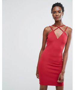 Wal G | Платье На Двойных Тонких Бретельках