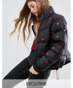 Lazy Oaf | Дутая Куртка С Сердечками