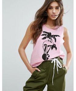 Carhartt WIP | Sleeveless T-Shirt With Flamingo Print