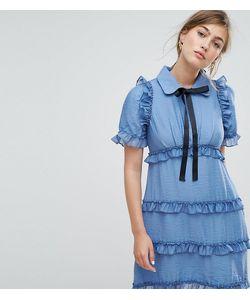 Sister Jane | Чайное Платье С Оборками