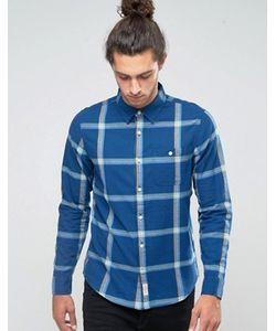 Hollister | Фланелевая Рубашка Слим В Клетку