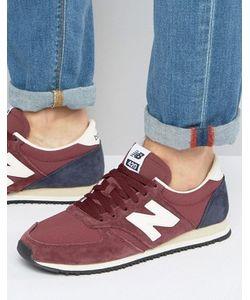 New Balance | Бордовые Кроссовки В Стиле 70-Х Running 420 U420rbn