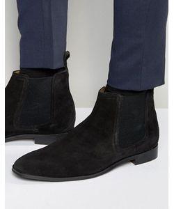 Dead Vintage | Черные Замшевые Ботинки Челси