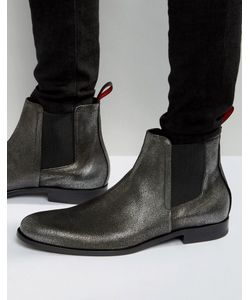 BOSS | Ботинки Челси Цвета Металлик Hugo By Hugo Sigma