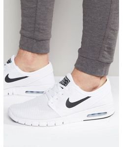 Nike SB | Белые Кроссовки Stefan Janoski Max 631303-100