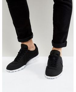 Nike | Черные Кроссовки Waffle Racer 17 898041-002