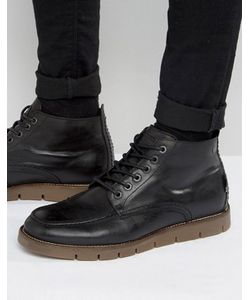 Jack & Jones | Кожаные Ботинки На Теплой Подкладке Kingston