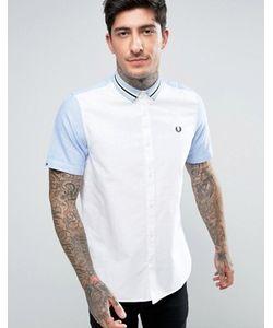 Fred Perry | Рубашка С Короткими Рукавами И Полосками На Воротнике