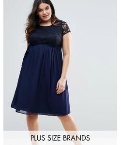Lovedrobe | Платье С Кружевным Топом Plus