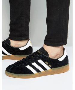 adidas Originals | Черные Кроссовки Munchen Bb5296