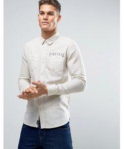 Firetrap | Фланелевая Рубашка С Начесом